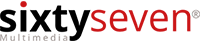Logo sixtyseven multimedia